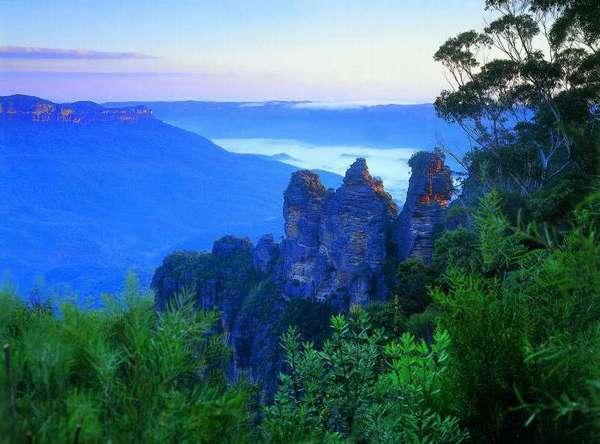 Национальный парк Австралии Голубые горы: координаты, описание ...