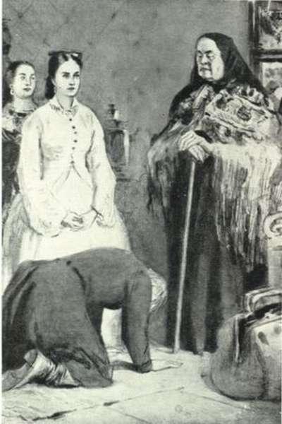 Тихон, его мать и Катерина