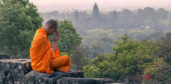 Монахи в Камбодже их повседневная жизнь и обычаи