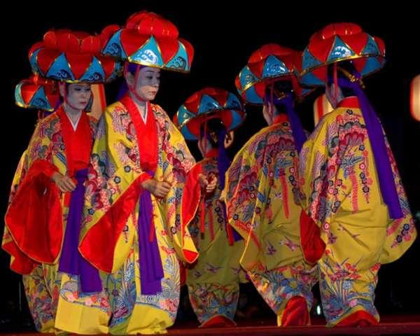 народный танец Японии