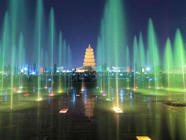 азиатский фонтан