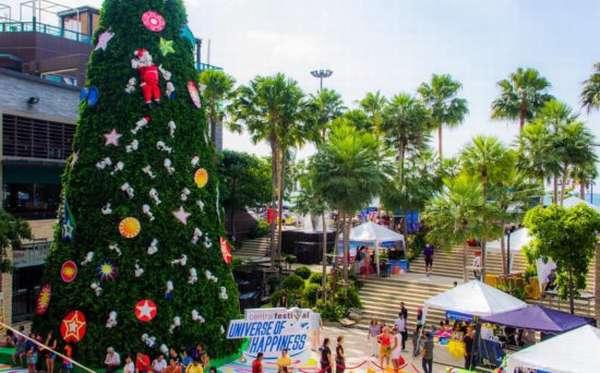 елка в Тайланде