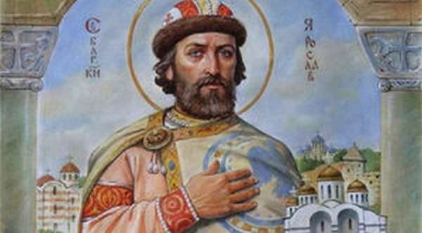 Ярослав мудрый, сын Владимира святого