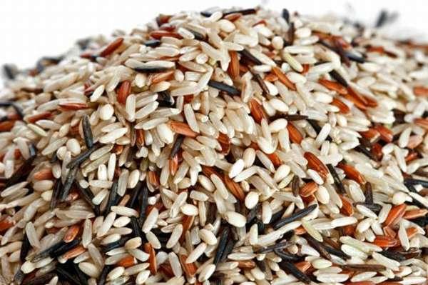 разные сорта риса