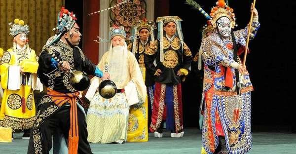 История китайского театра как он зарождался и развивался