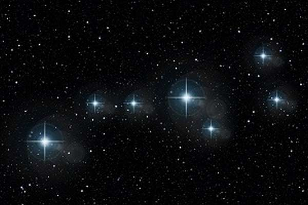 Большая медведица названия и описание звезд созвездия