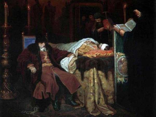 Иван Грозный у тела умершего сына