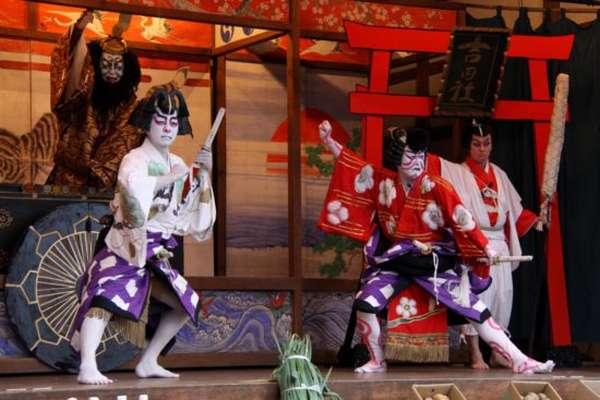 японский народный танец
