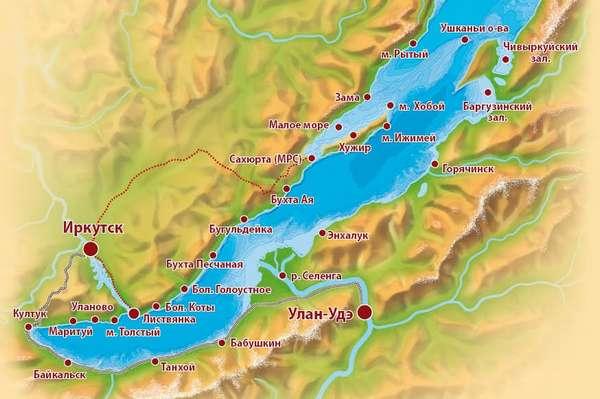 самое глубокое озеро россии и всего мира
