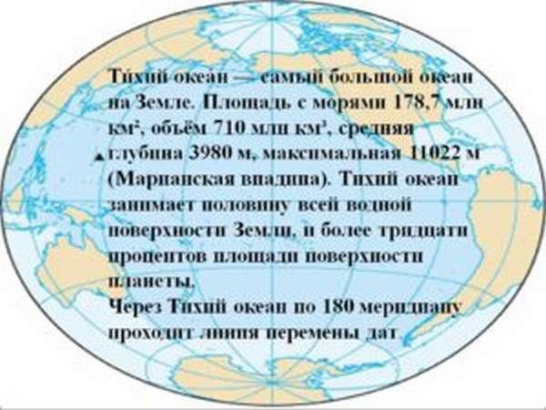 океаны мира названия